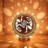 Gemini Candle Holder, Twins Ceramic Lantern, Round Tealight Holder, Astrology Zodiac Gift, Luminary Home Decor