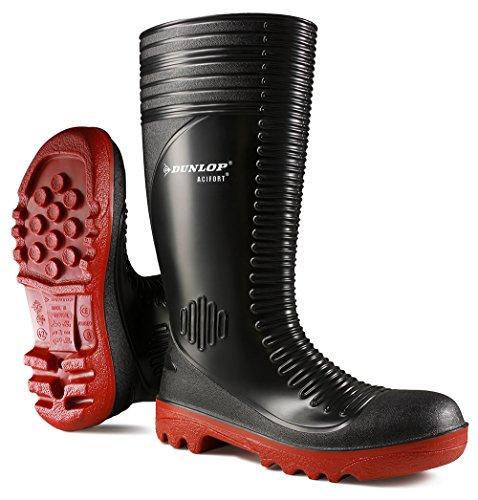 Dunlop, Scarpe antinfortunistiche uomo Nero nero 11