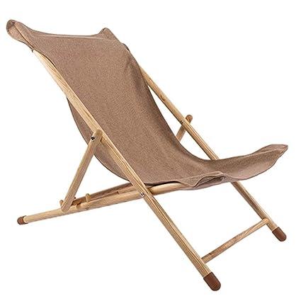 Amazon.com: Silla reclinable plegable portátil para oficina ...