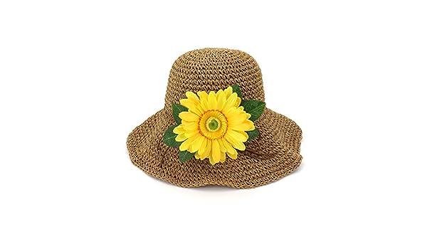 Yaojiaju Sombreros de Paja de Verano 3a74da89f99