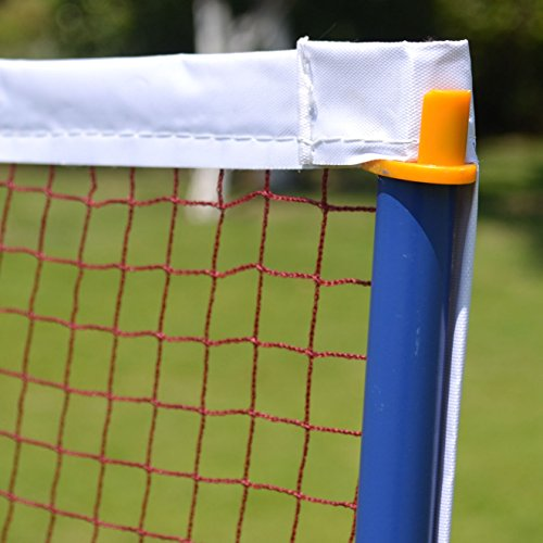 BenefitUSA Portable Training Beach Volleyball Tennis net Badminton with carrying bag by BenefitUSA (Image #2)
