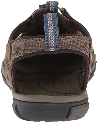 Enthousiast Mens Clearwater Cnx Sandaal Donker Aarde / Blauw Opaal