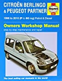 Citroen Berlingo and Peugeot Partner Service and Repair Manual (Haynes Service and Repair Manuals) by null (2014-08-27)