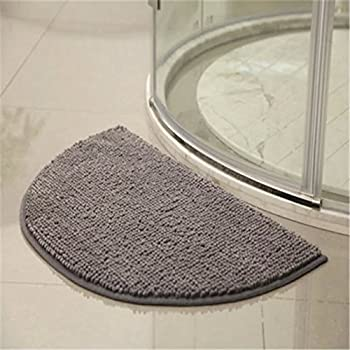 Amazon Com Half Moon Chenille Doormat Dreaminn Bathroom