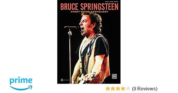 Bruce Springsteen Sheet Music Anthology Pianovocalguitar
