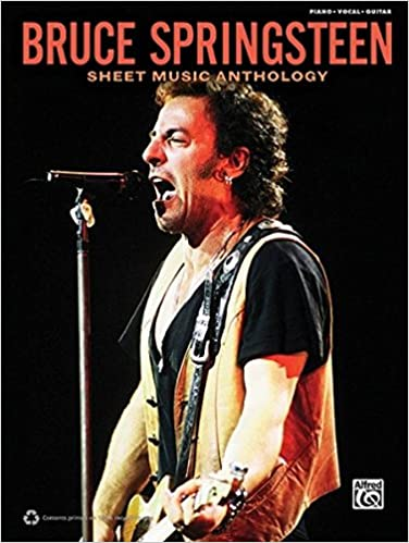 Bruce Springsteen Sheet Music Anthology Piano Vocal Guitar 0038081421988 Amazon Books