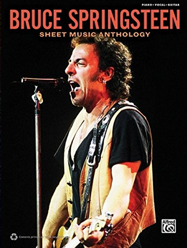 Bruce Springsteen Guitar - Bruce Springsteen -- Sheet Music Anthology: Piano/Vocal/Guitar