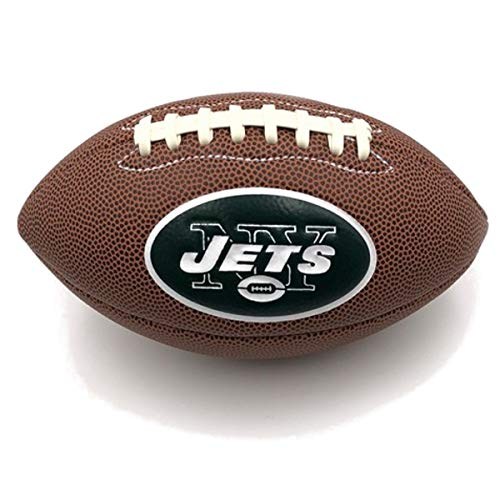 Jarden Sports Licensing Official National Football League Fan Shop Authentic NFL AIR IT Out Mini Youth Football. Great for Pick up Game with The Kids. (New York Jets)