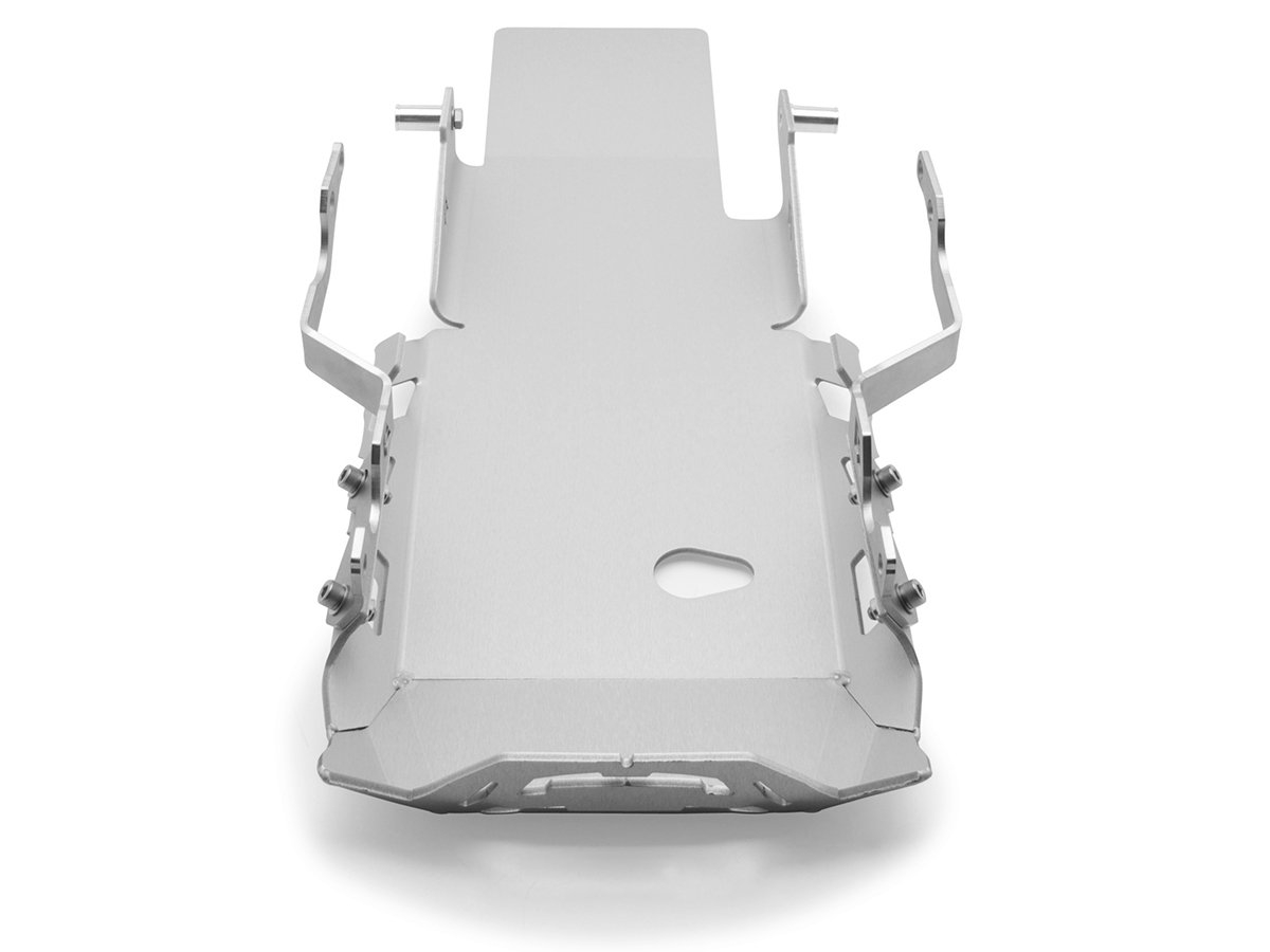 AltRider R116-1-1204 Skid Plate for the BMW R 1200 GS Adventure Water Cooled Silver