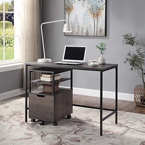 OSP Home Furnishings Contempo 42-Inch Desk