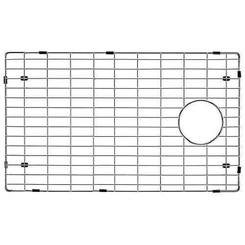 Transolid TSGRSS Radius Bottom Sink Grid, 27.52'' L x 14.92'' W x 1'' H, Stainless Steel by Transolid