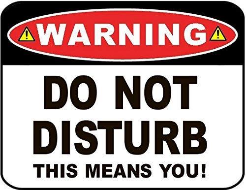 Modtory Advertencia no Molestar Esto Significa Que Usted ...