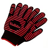 BBQ Grilling Gloves - 932°F Extreme Heat Resistant Barbecue Gloves, Oven Mitts for Grilling, Baking, and Cooking - 1 Pair