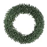 Vickerman Douglas Fir Wreath with 1100 Tips and 4 Sections, 72-Inch