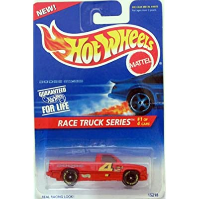 Hot Wheels 1995-380 Dodge RAM 1500 Race Truck Series 1 of 4 1:64 Scale: Toys & Games