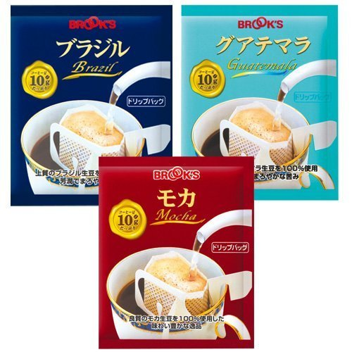 [Amazon.co.jp limited] Brooks drip bag coffee straight three set a total of 90 bags by Unknown (Image #3)