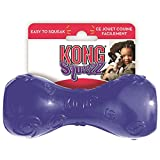 Kong Squeezz Dumbbell Dog Toy, Medium, Colors Vary
