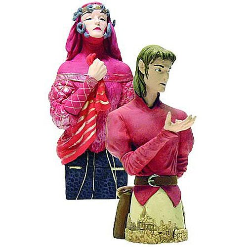 DC Comics Stardust Tristran and The Witch Mini Bust Set