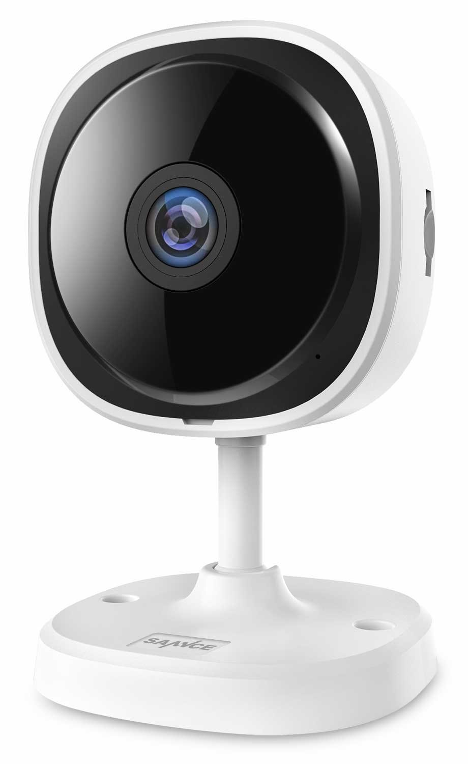 SANNCE 1080P HD WIFI Security Camera, 180-degree Wireless IP Camera with fisheye Full Angle, Cloud Service Available, Two-way Audio, Motion Detection