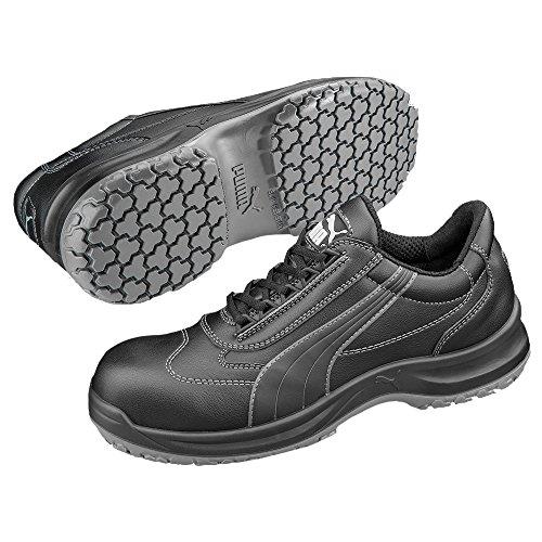 Puma Clarity Low Blk S3 Src, Chaussures Espadrilles Femme Schwarz (schwarz 200)