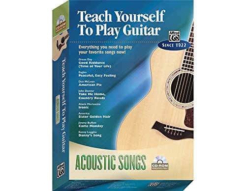 Alfred Teach Yourself To Play Guitar: Acoustic Songs ()