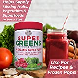 Country Farms Super Green Drink, Berry Flavor, 10.6