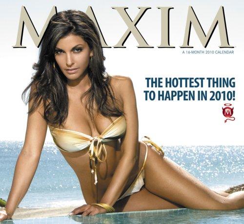 Maxim 2010 Wall Calendar - Model 2010 Calendar Year