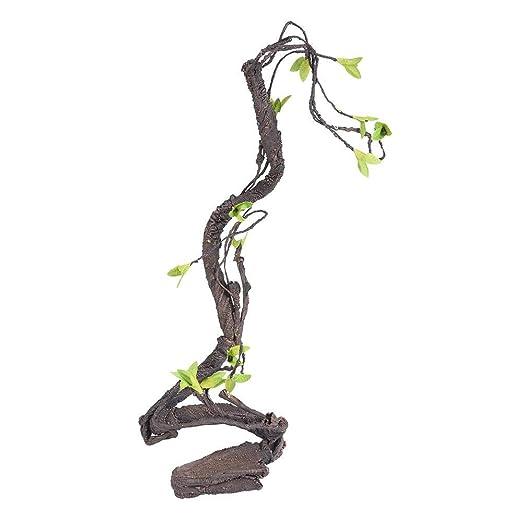 Reptiles Artificiales Vine Climber, Selva Bosque Curva Rama ...