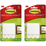 Command Picture Hanging Strips, Medium pkEoHt, White, 2Pack (3 Strips)