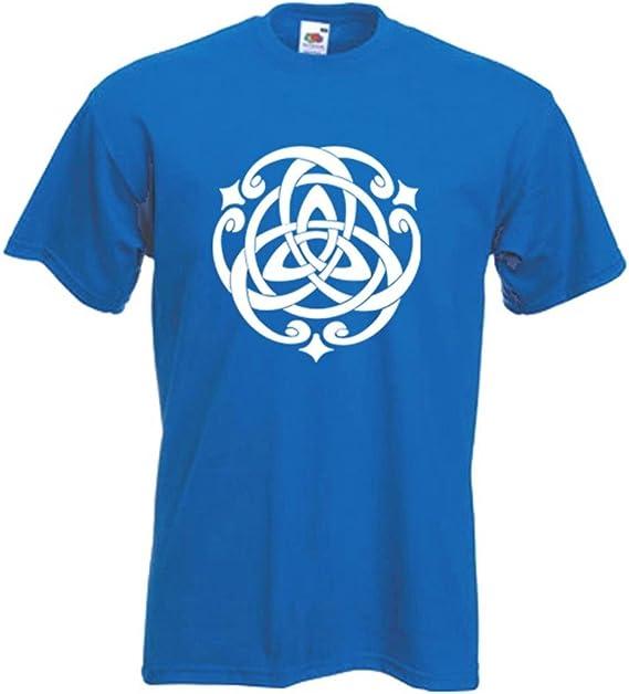Tribal T-Shirts para Hombre diseño de Nudo Celta T-Camiseta de Manga Corta (de Elecciones de Color): Amazon.es: Ropa y accesorios