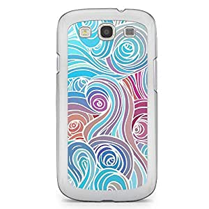 Clouds 8 Samsung Galaxy S3 Transparent Edge Case - Clouds Collection