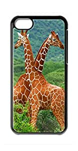 diy case animal Giraffe Snap-on Hard Back Case Cover Shell for iphone 4 4s -852