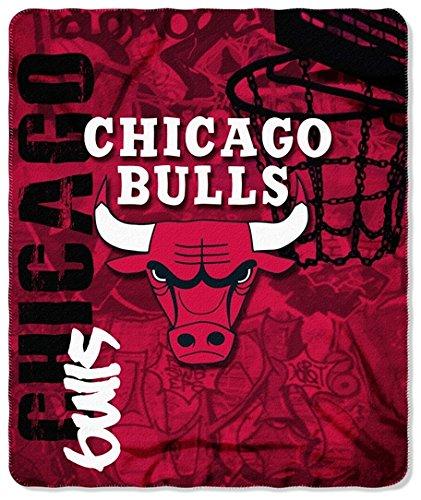 Chicago Bulls 50x60 Hot Shot Fleece Throw