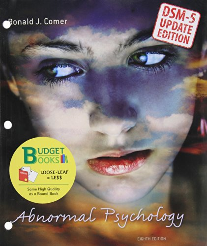 Abnormal Psychology with Dsm5 Update (Loose Leaf) & Psychportal Access Card