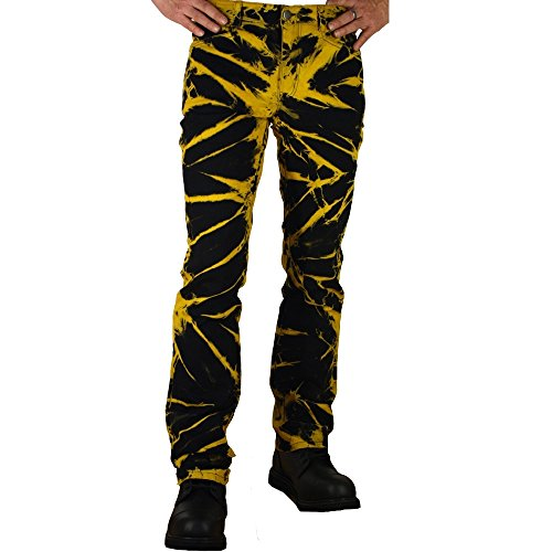 Nix Gut - JPure Style Jeans blanqueado amarillo batik KYrDg52Dk