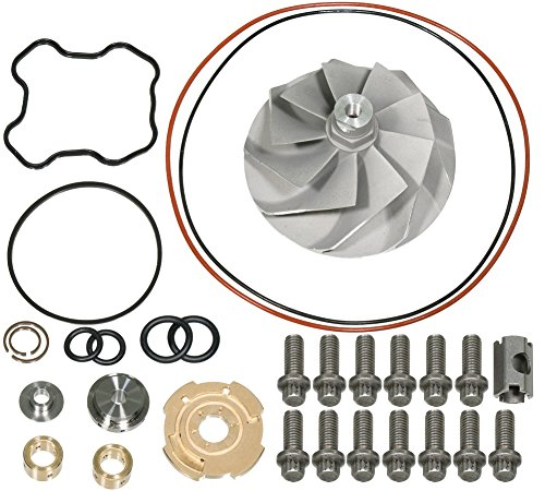 APDTY 139976 Turbo Vane Wheel & Gasket Rebuild Kit Fits 1994-2003 Ford Powerstroke 7.3L Turbo Diesel (Repairs F81Z-6K682-BARM, 446579-0001, 817-1004-002F, 813-1001-001)