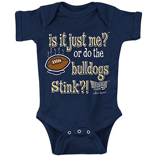 Smack Apparel Georgia Tech Football Fans. is It Just Me?! Onesie (NB-18M) or Toddler Tee (2T-4T) (12 Month)