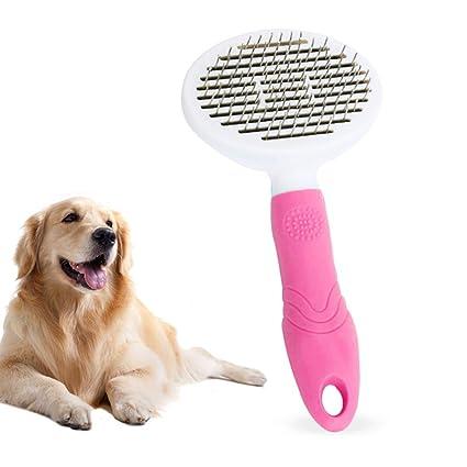 OLDF Cepillo Suave del Animal doméstico para los Perros y ...