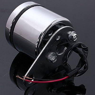 Universal Motorcycle ATV Dirt Pit Bike LED Voltage Voltmeter Gauge