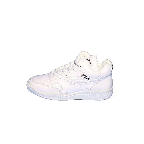 cfab5d7e Fila Pine Sneakers - MID White: Amazon.co.uk: Shoes & Bags