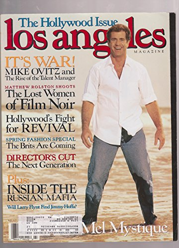 MEL GIBSON Los ANgeles periodical march 1999 Mike Ovitz Larry Flint Jimmy Hoffa