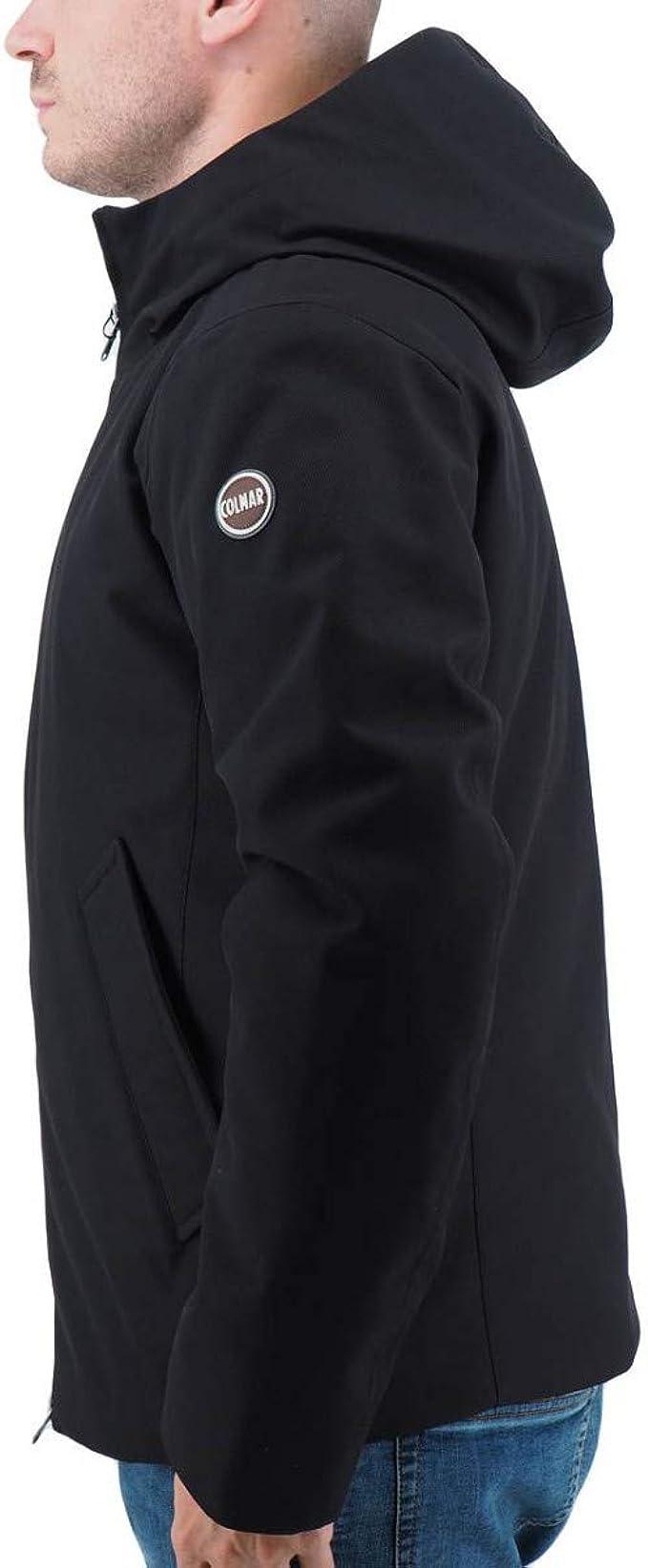 COLMAR ORIGINALS 1287-1RT-99 Riddle Down Jacket Piumino Uomo NERO
