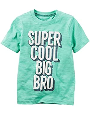 Boys Super Cool Big Bro T-Shirt