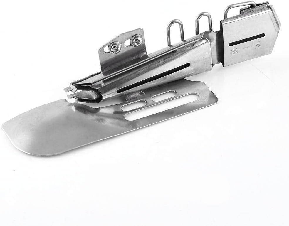 1pc Flat Binder Folder Binding Attachment Tape Binder for Industrial Sewing Machine 3//4 1-7//8-3//4
