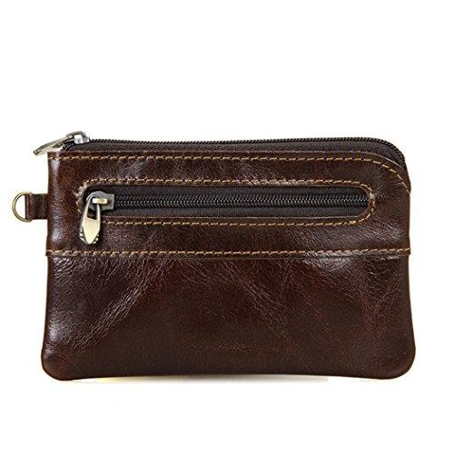 Coin Wallet, Genuine Leather Credit Card Holder Case Wallet Coin Change Purse for Men - Ysl Reading Glasses