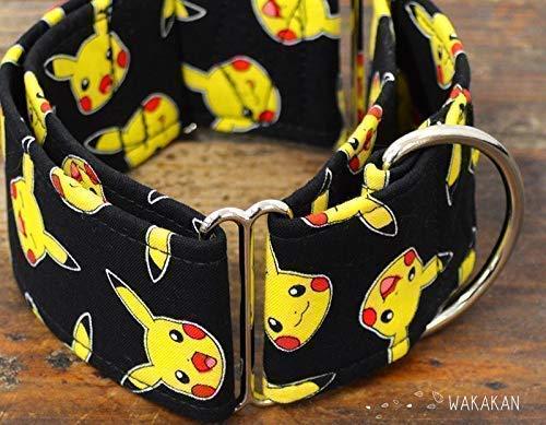 Collar Martingale Para Perro: Pikachu Mood, Hecho a Mano en España por Wakakán: Amazon.es: Handmade