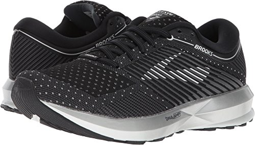 Brooks Women's Levitate Black/Ebony/Silver 8.5 B US by Brooks