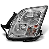 ford fusion headlight assembly - Ford Fusion Clear Chrome Driver Left Side Front Headlight Head Lamp Front Light Replacement