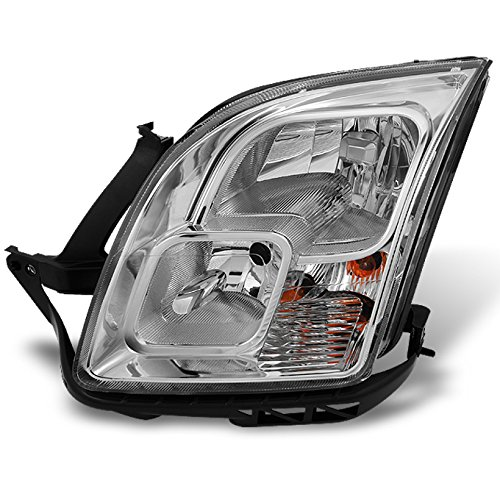 For Ford Fusion Clear Chrome Driver Left Side Front Headlight Head Lamp Front Light Replacement ()