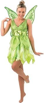Peter Pan - Disfraz de Hada Campanilla para mujer, Talla S adulto ...